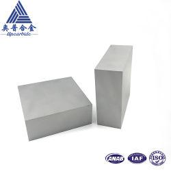 Yg8/YG10/YG15/YG20 100*100*38mm Carte de carbure de tungstène non broyé