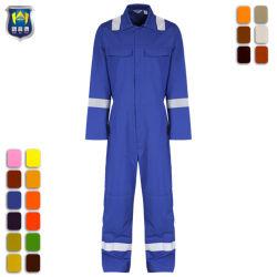 Hi Vis 안전 보호 보안 반사 테이프 유니폼 작업복 커버