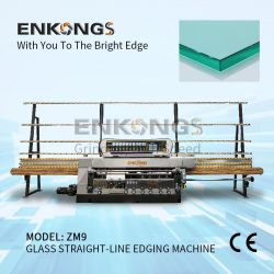 Zm 9の手動制御のガラス端のエッジングの磨く機械