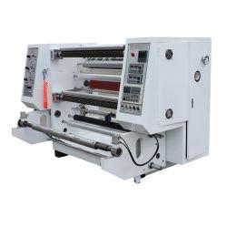 El film estirable etiquetas Duplex rebobinadora cortadora longitudinal fabricado en China