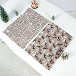 Stuoia Yarn-Dyed semplice europea della Tabella della ramia del poliestere