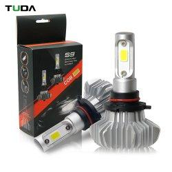 Автоматическая система освещения микросхемы початков безвентиляторные 24V СУПЕРЯРКИЙ H11, H7 9006 9005 H1 S9 светодиодные лампы фар
