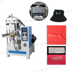シリコーンの熱伝達のラベル3Dの機械を作る浮彫りになる一流のロゴゴム製パッチのラベル