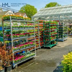 Fabrieksprijs Hoogwaardige Opslag Staal Outdoor Garden Flower Shelf