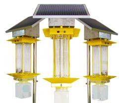 Une grande efficacité longue durée de vie Esavior 20W solaire lumière solaire insecticide destructeurs d'insectes lampe pour la santé de la famille agricole avec panneau solaire 40W Mono