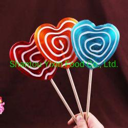 80g 큰 심혼 Lollipop 소용돌이 모양