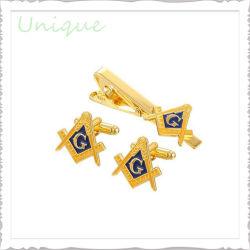 Мода на заводе Металлообработка манжеты Link свадьбы Silver Gold футболка запонки для украшения подарок для продвижения