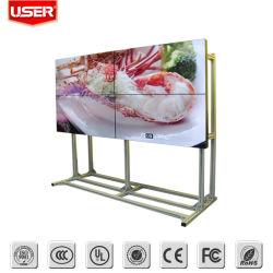 3X3 Full HD de 46 pouces mur vidéo LCD/LED de la publicité Displayer