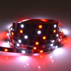 HD de 5V107s IC Magic 5050 tira RGB LED 60LED/M LC8823 luz Fita Flexível