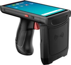 Scanner van de Streepjescode PDA Handbediende 1d 2D Qr van de Lange Waaier RFID van Blovedream S70 de Androïde UHF met de Greep van het Pistool voor het Beheer van de Inventaris van het Pakhuis