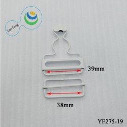 Aleación de 38mm ajustable de suspender el gancho de latón hebilla Calabash hebilla para Jeans Ropa/Accesorios (Yf275-19)