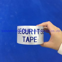 Verde de cinta adhesiva de seguridad de la entrega de cinta para la protección de la marca