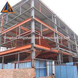 Construction en acier de plusieurs étages de parking des capacités dans les Philippines