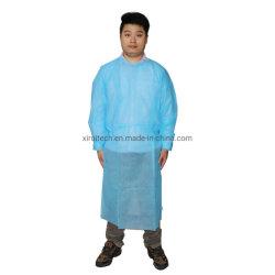 Utilização de protecção de PP descartáveis/Nonwoven Medical vestido de isolamento para clínicas de tatuagem