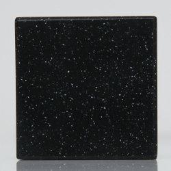 Edificio de color negro Material 100% de la superficie sólida Acrylice