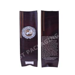 Kundenspezifische Größen-Seiten-Stützblech-Folien-Plastiktaschen für Nahrung/Kaffee/Tee
