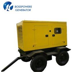 90kw 50Hz 60Hz mobiler Schlussteil-Emergency Dieselenergien-Reservegenerator