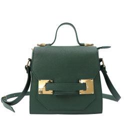 Тренды Designer High-end зеленый сумки через плечо дамы Saffiano кожаный мешок