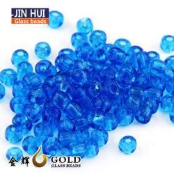 12/0 Transparent Accessorieshigh à trou rond en verre de cordon de semences de qualité