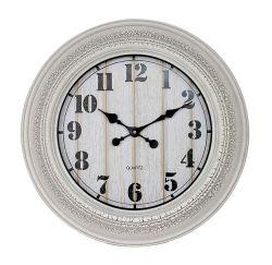 極度の大きい円形の灰色のアラビアデジタル柱時計