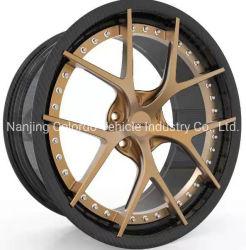 18 a 22 pulgadas de fibra de carbono ultraligero chino coche Llantas de aleación de aluminio forjado llantas de aleación de /