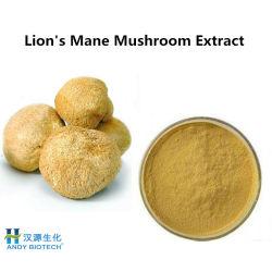 Cuidado de la piel Hericium Erinaceus extracto en polvo Extracto de hongos melena de león