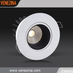Foco ajustable COB Proyecto Hotelero foco LED luz tenue iluminación interior LED de fabricación