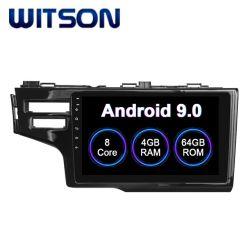 Witson Android 9.0 Système audio de voiture pour Honda 2014 Mettre en place deux trous de 4 Go de RAM 64 Go de mémoire Flash grand écran dans la voiture lecteur de DVD