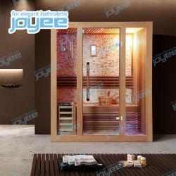JoyeeのアメリカツガのSoildの卸売のための木製のサウナの家