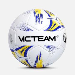 Matériau PVC Ballon de soccer football cousus de la machine