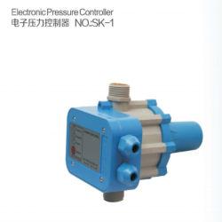 O interruptor automático de pressão com medidor de pressão de bomba de água