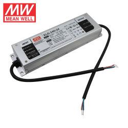 Meanwell ELG-240-24 240W 24V 10A conduit l'architecture de la rue Bay Projecteurs à tension constante Driver de LED à courant constant