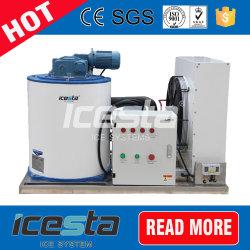 L'énergie de l'ammoniac Efficienct flocon Machine à glace de l'équipement de l'évaporateur