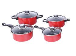 4 PC Couleur rouge Populaire Non Stick Ustensiles de cuisine