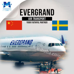 Service de livraison de l'air en provenance de Chine à la Suède/Stockholm/Goteborg/Malmo/Norrkoping