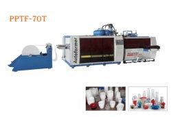 De automatische Kom Thermoforming die van de Soep van de Yoghurt van het Roomijs van de Salade van de Doos van de Verpakking van het Voedsel van pp PLA Plastic Makend Machine vormen zich