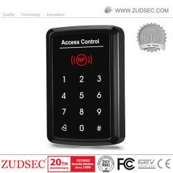 Dirigere la tastiera autonoma del lettore di controllo di accesso del portello di entrata del cancello di tocco RFID con la lampadina di colore del tasto di parola d'accesso