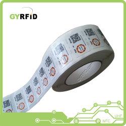 13.56MHz étiquette RFID Les étiquettes RFID pour la RFID Le suivi des stocks (LAP)