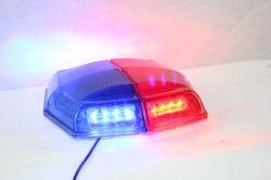 Leuchtfeuer-WARNING-blinkende Lichter der Magnet-rotes blaues Polizei-LED