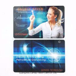 12000-15000ionsの熱い販売の否定的なイオン電気セービングエネルギーカード