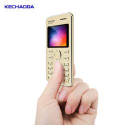 Kechaoda K116 de 1.8 pulgadas mini teclado desbloqueado GSM celular de pantalla en color OEM ODM resistente Telefon característica de los teléfonos móviles