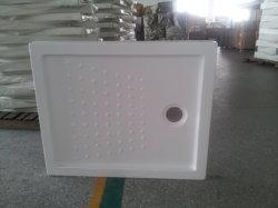 Cassetto acrilico quadrato dell'acquazzone della vetroresina con la parte inferiore della resina della vetroresina