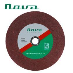 La mejor calidad de la rueda de corte abrasivos de corte del disco sierra para metal