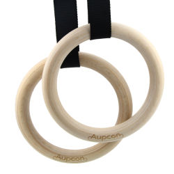 El levantamiento de pesas Gimnasio Gimnasia Anillo Anillos para Home Fitness con correas de nylon flexible