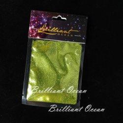 polvere operata di scintillio di verde di erba 15g/Package per la decorazione