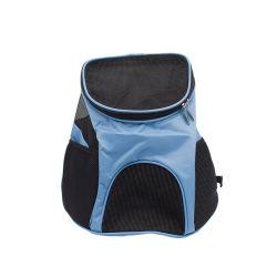 Portátil transpirable perro gato portador de la mascota de la bolsa mochila de viaje