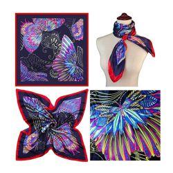 Пользовательские моды цифровой печати шелковые шарфы