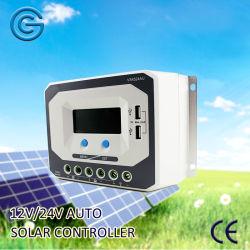 45А 24V Auto/солнечной энергии/система питания контроллер с интерфейсом USB