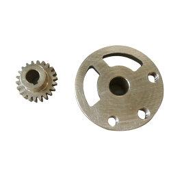 自転車の部品のためのOEMによってカスタマイズされる投資鋳造の金属ギヤ車輪