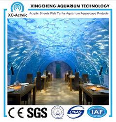 Le restaurant sous-marine aquariums